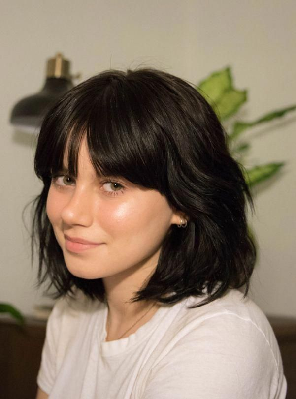 Pin On Bangs Hair