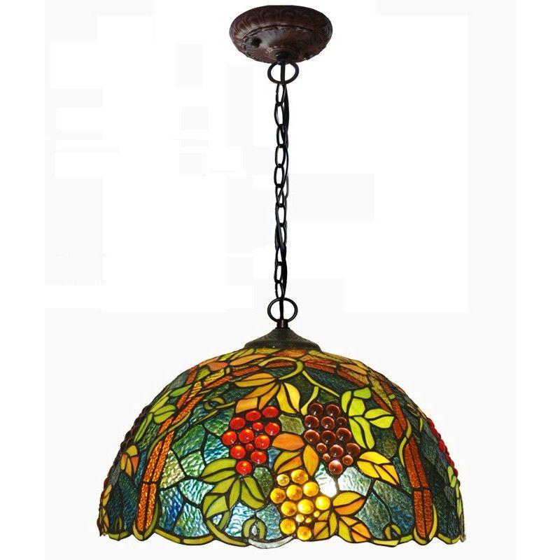 $353.50 / piece Fixture Width: 42 cm (17 inch) Fixture Length : 42 cm (17 inch) Fixture Height:25 cm (10 inch) Chain/Cord Length : 60 cm (24 inch) Color : multicolor Materials:glass,iron
