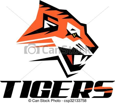 vector tigers logo design stock illustration royalty free rh pinterest com summer vector artwork free free vector artwork for commercial use
