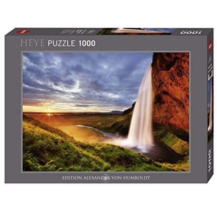 MERCIER Puzzle 1000 pièces Seljalandsfoss Waterfall 50 x