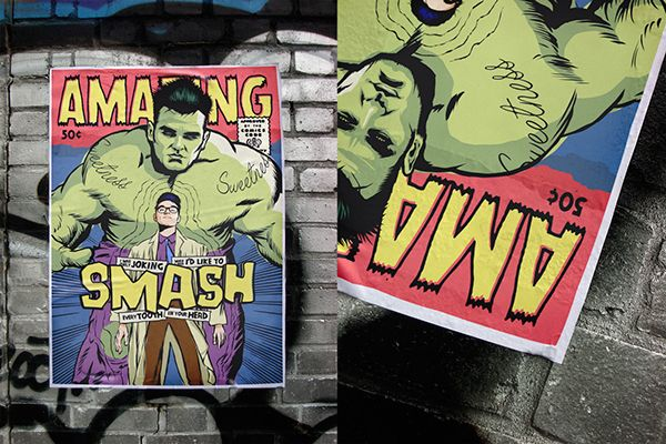 All-New Superpowered Post-Punk Marvels by Butcher Billy on Behance