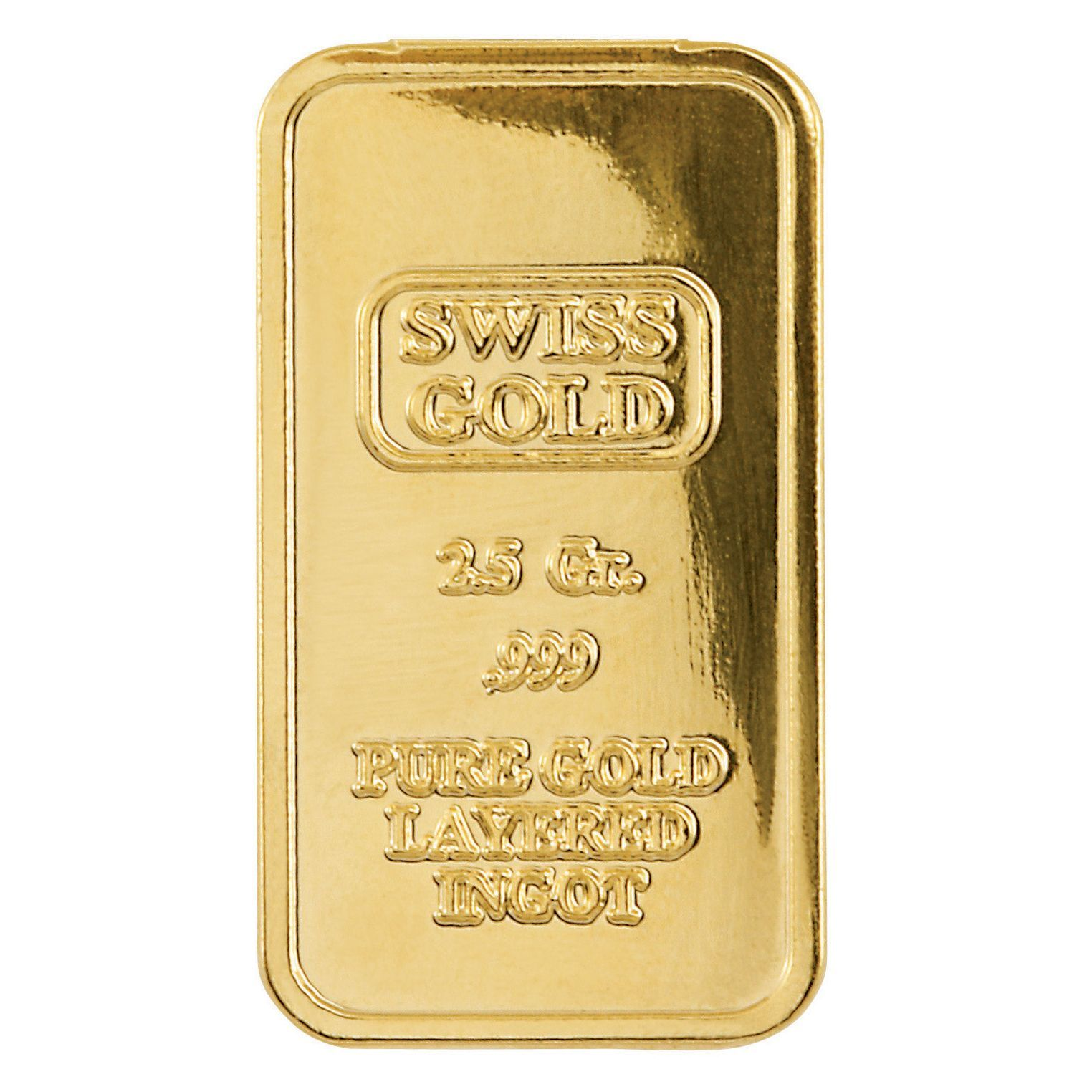 American Coin Treasures Gold Brass 2 5 Gram Swiss Ingot Tribute Gold Sports Cars American Coins