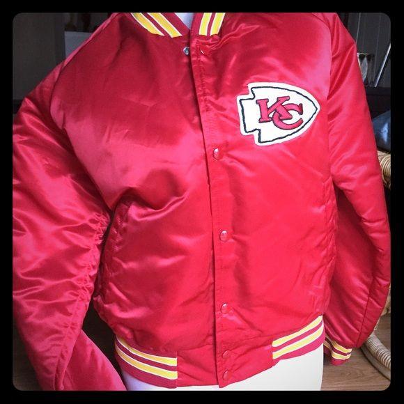 b9076922 NEW Chalk line Kansas City Chiefs starter jacket Vintage. Medium ...
