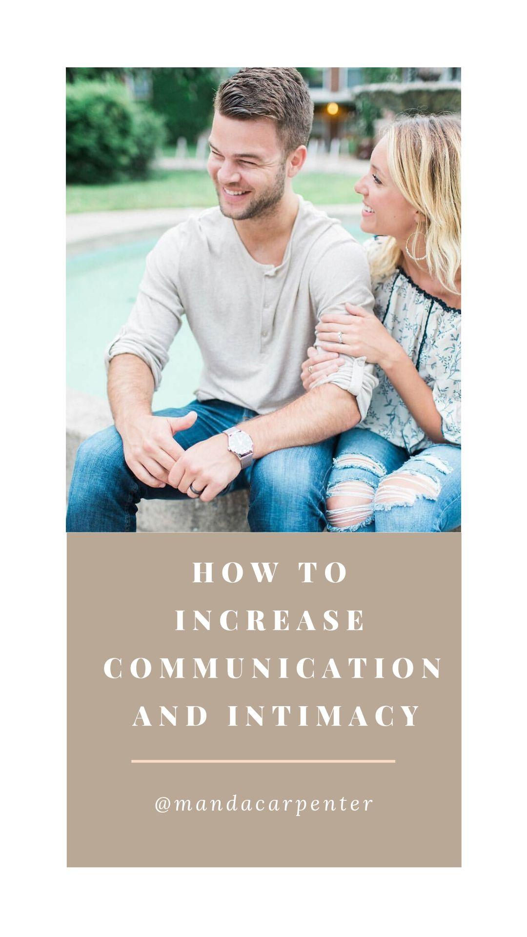 Marriage Intimacy Communication Advice