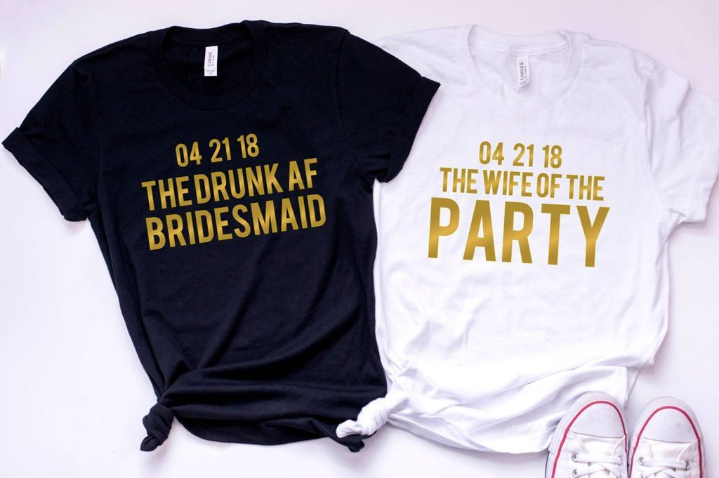 0d86064f2 Funny Bachelorette Party Customized Tees or Tanks / bridal party shirts / bridesmaid  tees