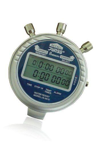 Junsd Metal Digital Stopwatch 6610 Ex Stopwatch Digital Stopwatches