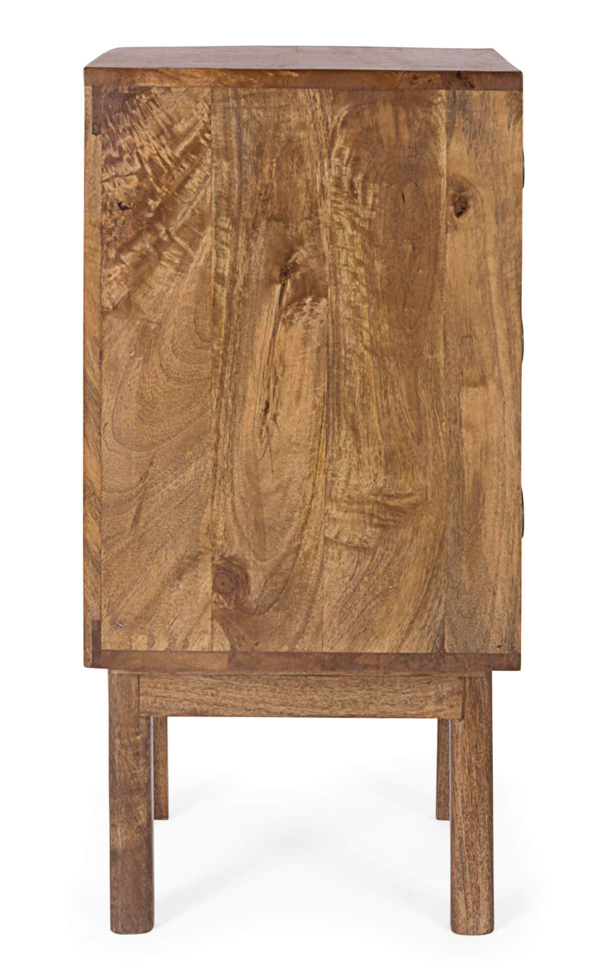 MUZZA chest of drawers sylvester with 3 natural drawers