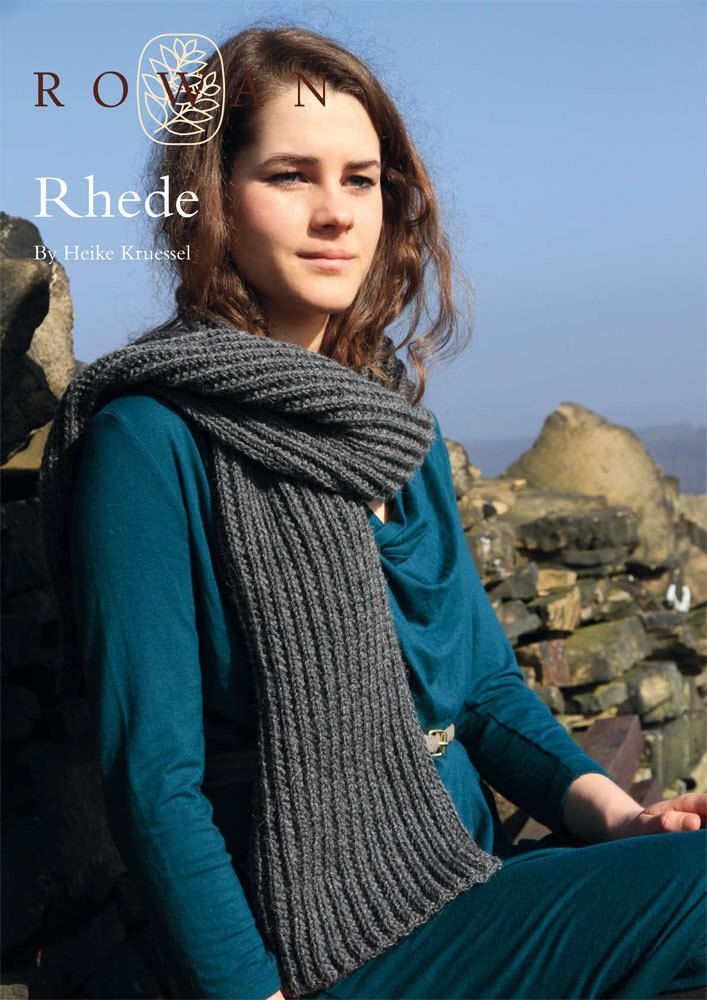 Rhede Scarf In Rowan Pure Wool Worsted Discover More Patterns By