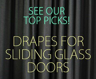 17 Best images about Drapes for Sliding Glass Doors on Pinterest | French door  curtains, Diy curtain rods and