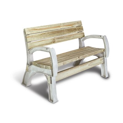 Freeport Park Mya Anysize Natural Chair Bench Kit