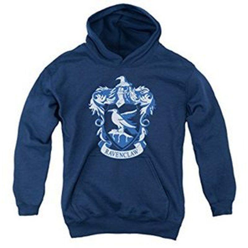 size 40 fantastic savings premium selection Harry Potter Hogwart's Ravenclaw logo hoodie | HOODIE in 2019 ...