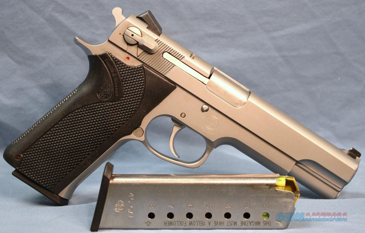 Smith & Wesson 4506-1 Semi-Automatic Pistol 45 ACP Guns ...