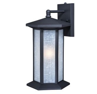 Vaxcel Lighting T0222 Porch Black Outdoor Wall Lights