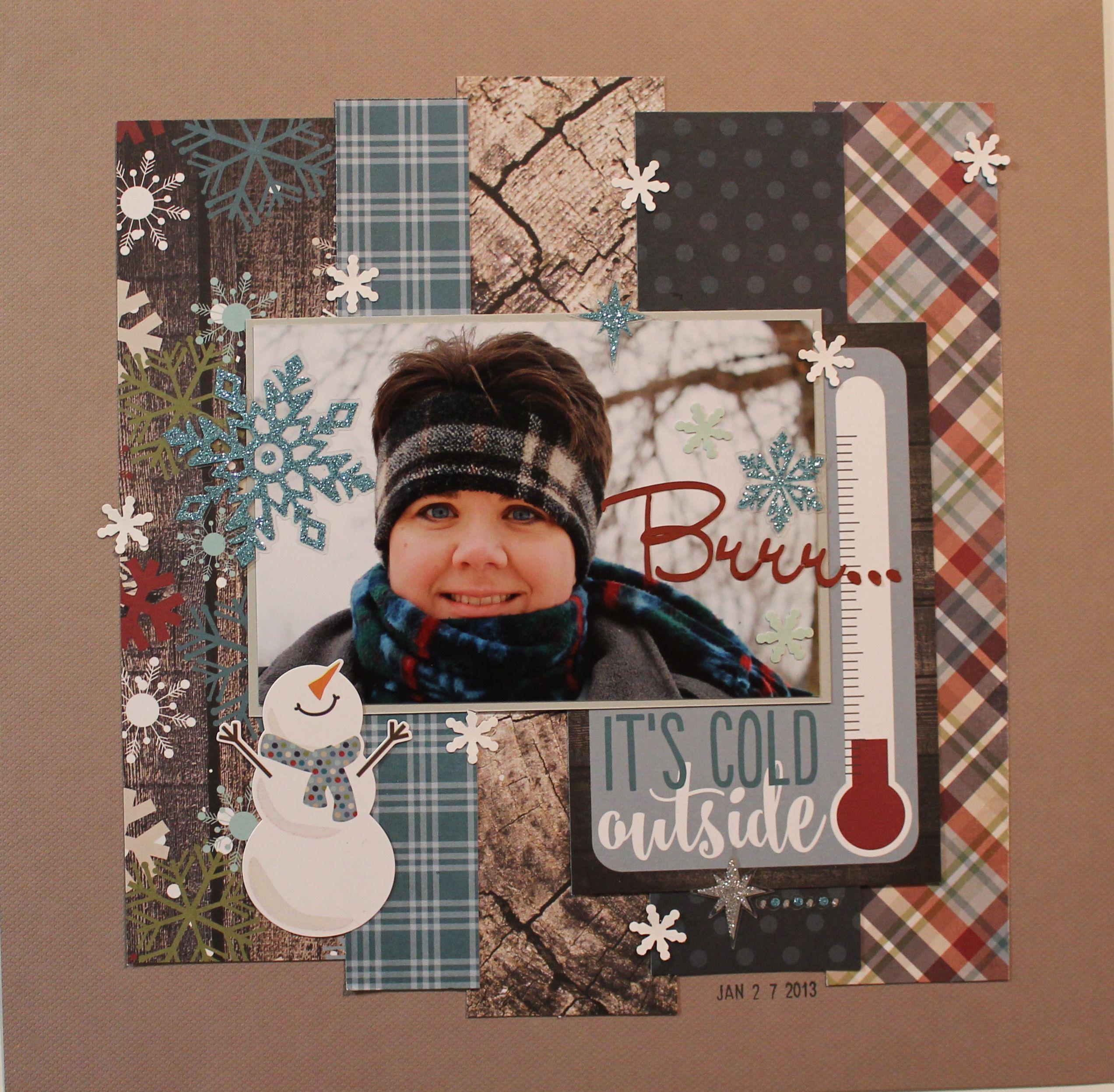 Brrr... - Snow Patrol Simple Set - Scrapbook.com | scrapbook ideas ...