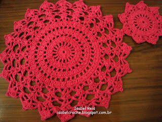 Copritavolo Uncinetto ~ Pin di priscila tessele su crochet marina pinterest