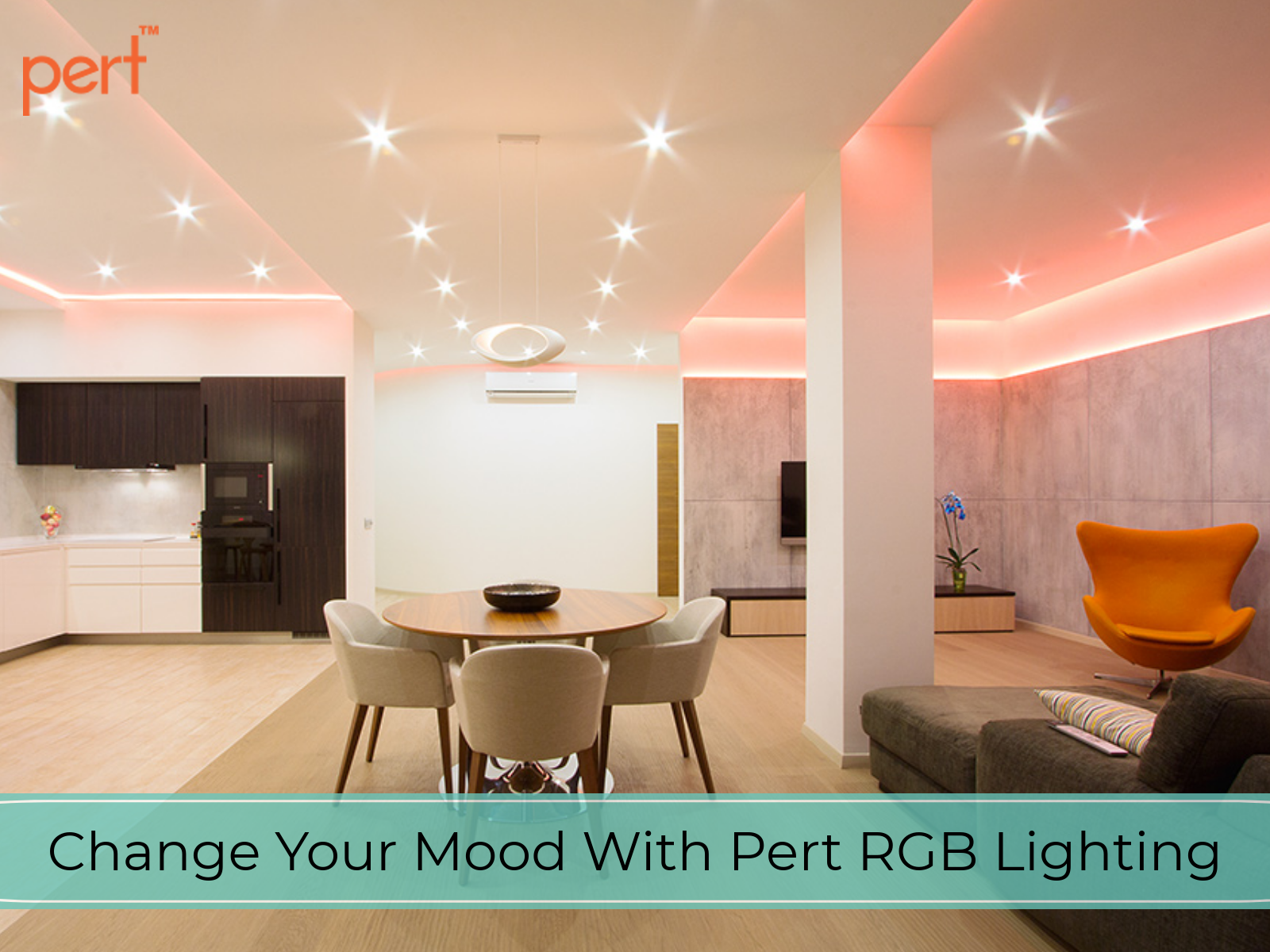 Light Automation Change Your Mood With Pert Rgb Lighting Rgb Light Lighting