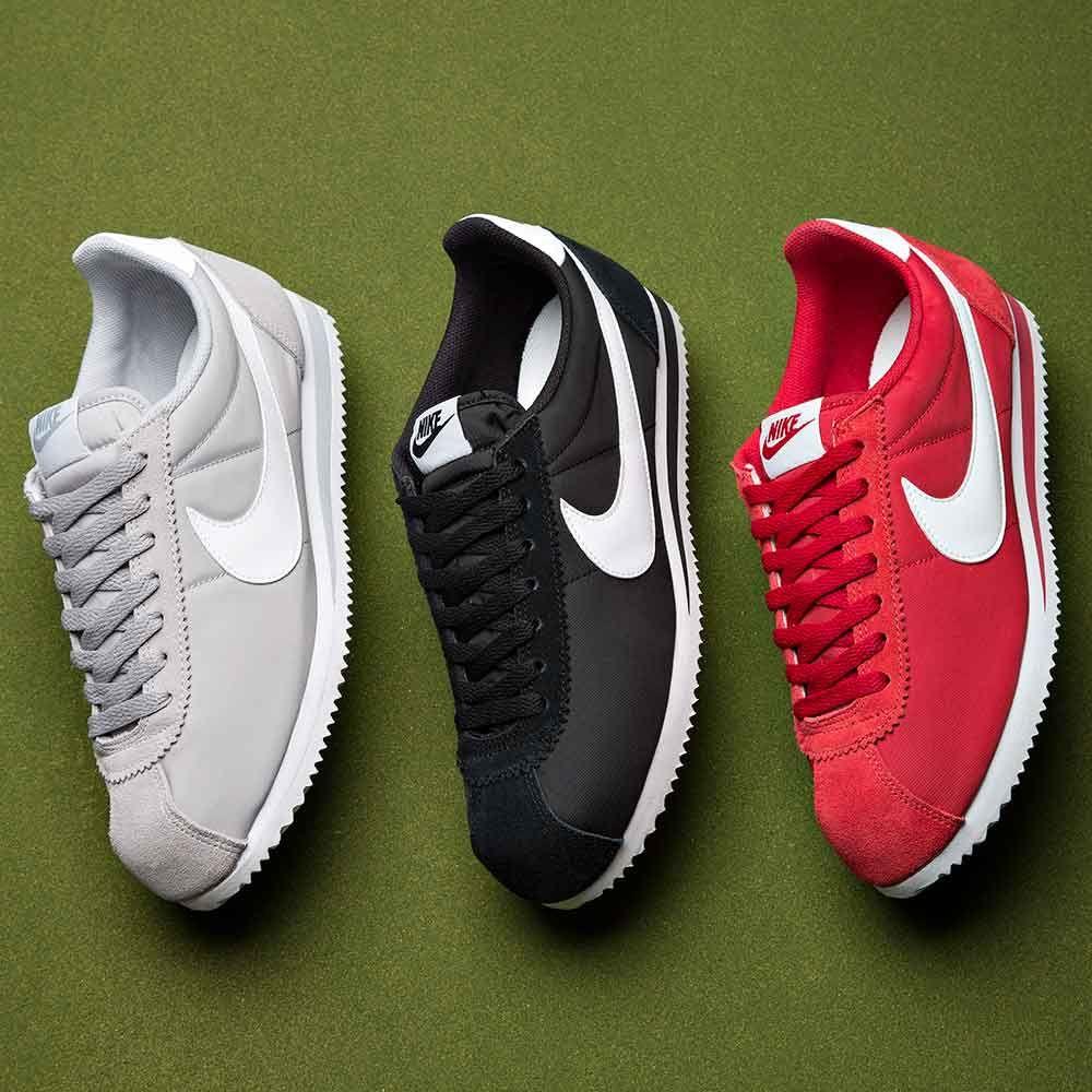 hot sale online 4764d c7136 A recent arrival into Footasylum, the Nike Classic Cortez Nylon Trainer.  Choose a colour