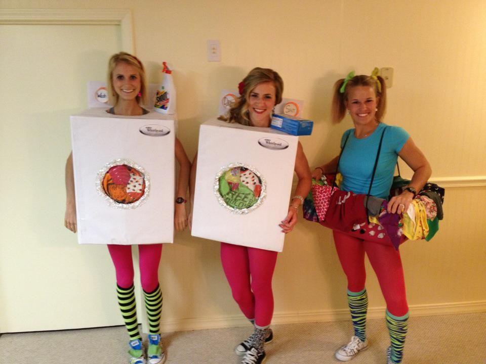 Washer, dryer, and laundry basket Halloween costume. | Halloween ...