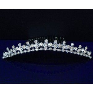 16ded99c651c6e SC Bridal Wedding Tiara Comb With Round Crystals 71575 | Wedding ...