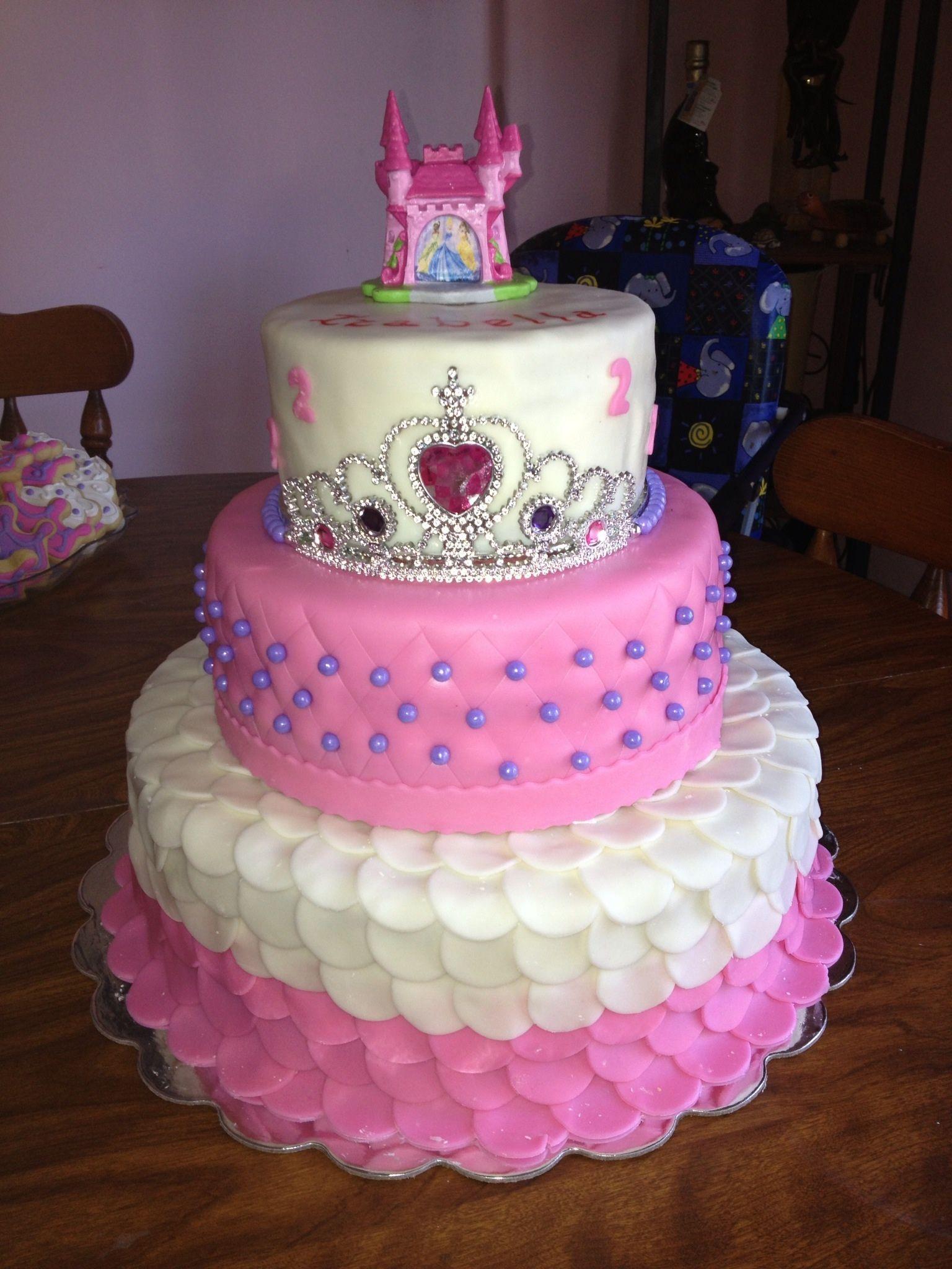 Birthday Cake Girl Birthday Cake Princess Cake Tiara