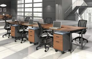 Collaborative Benching Systems Are The Future Modular Desk Global Furniture Unique Office Furniture