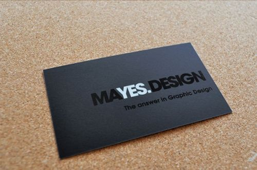 designing a business card - Business Card