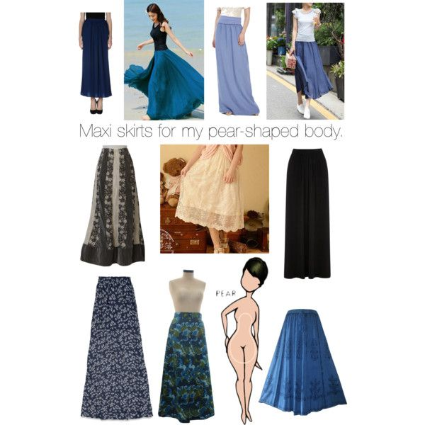 Maxi Skirts for my Pear-Shaped Body | Pear Body / Buttocks