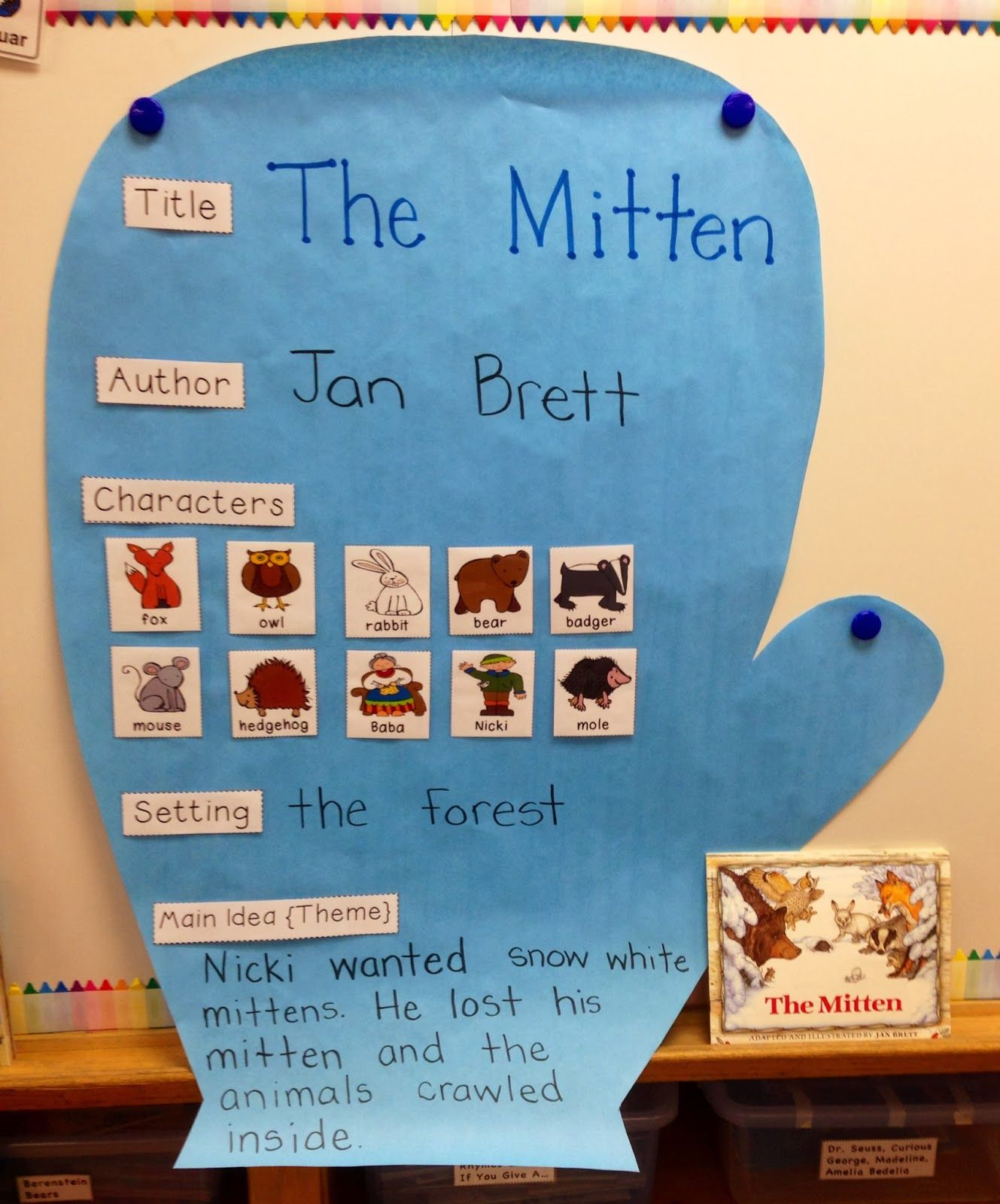 The Mitten Unit Full Of Math Writing Amp Literacy