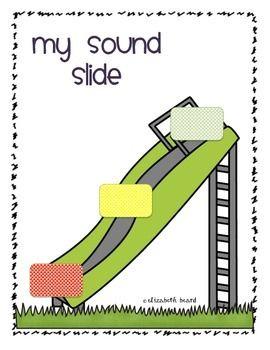 Sound Slide Freebie | Kindergarten intervention | Phonemic