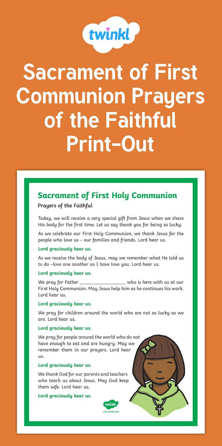 Masturbation holy communion