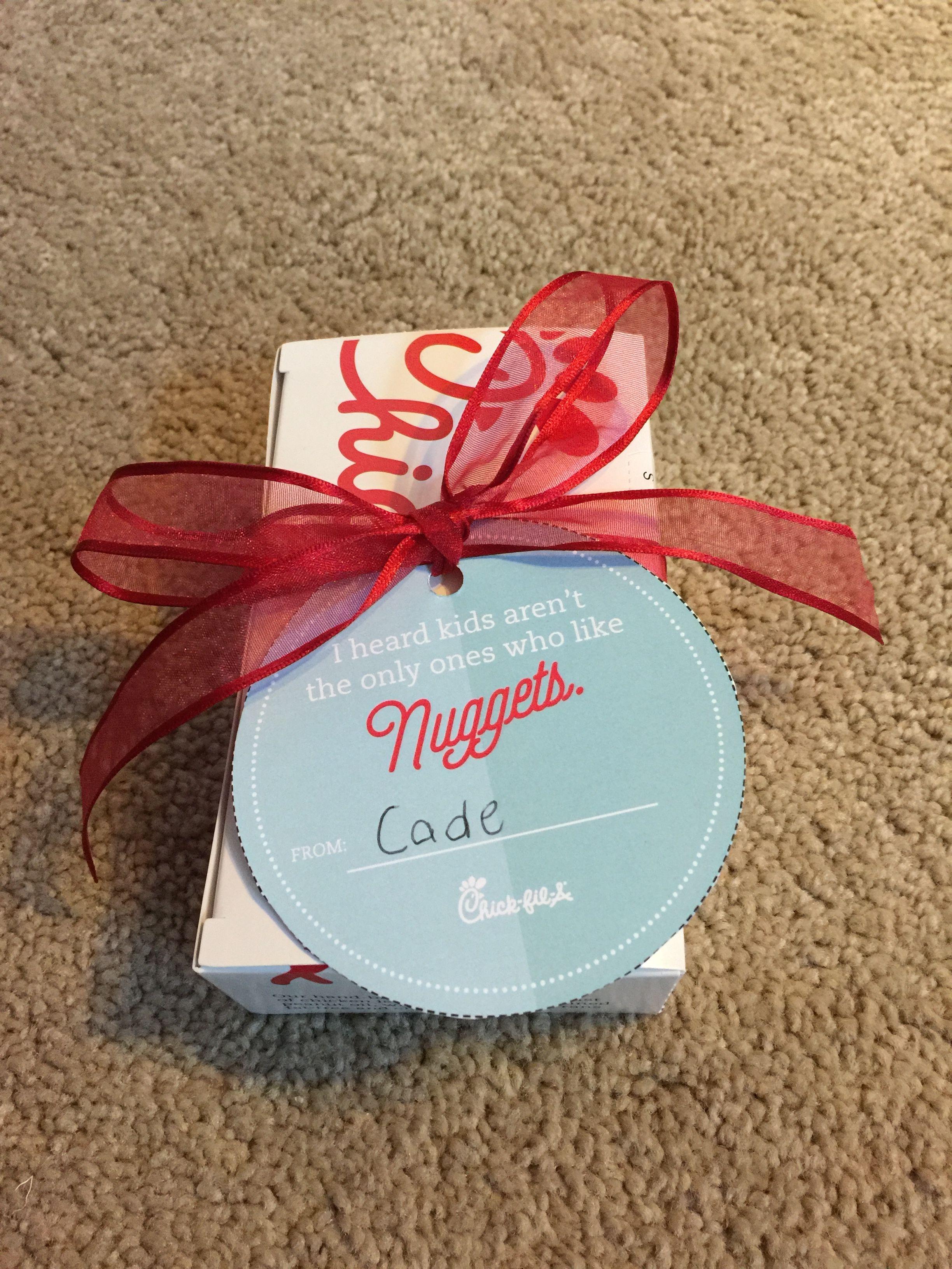 Teacher Appreciation Week!! A Chick-FIL-a gift card inside their ...