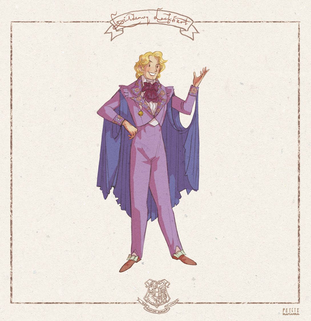 Next up, Magical Me!..ehm, I mean Gilderoy Lockhart! Being