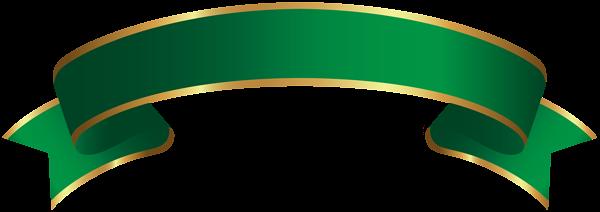 Green Gold Banner Transparent Clip Art Gold Banner Green And Gold Banner