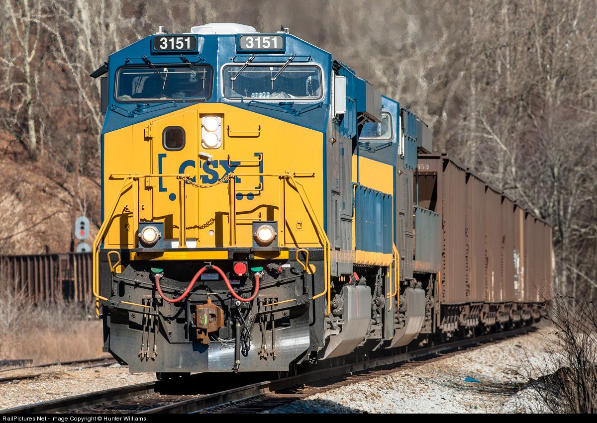 Pin by Alvin France on Clinchfield Railroad and CSX Csx
