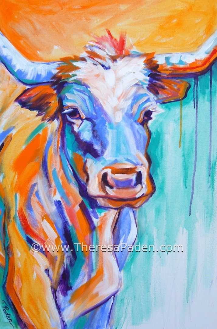 Famous Highland Cow Paintings