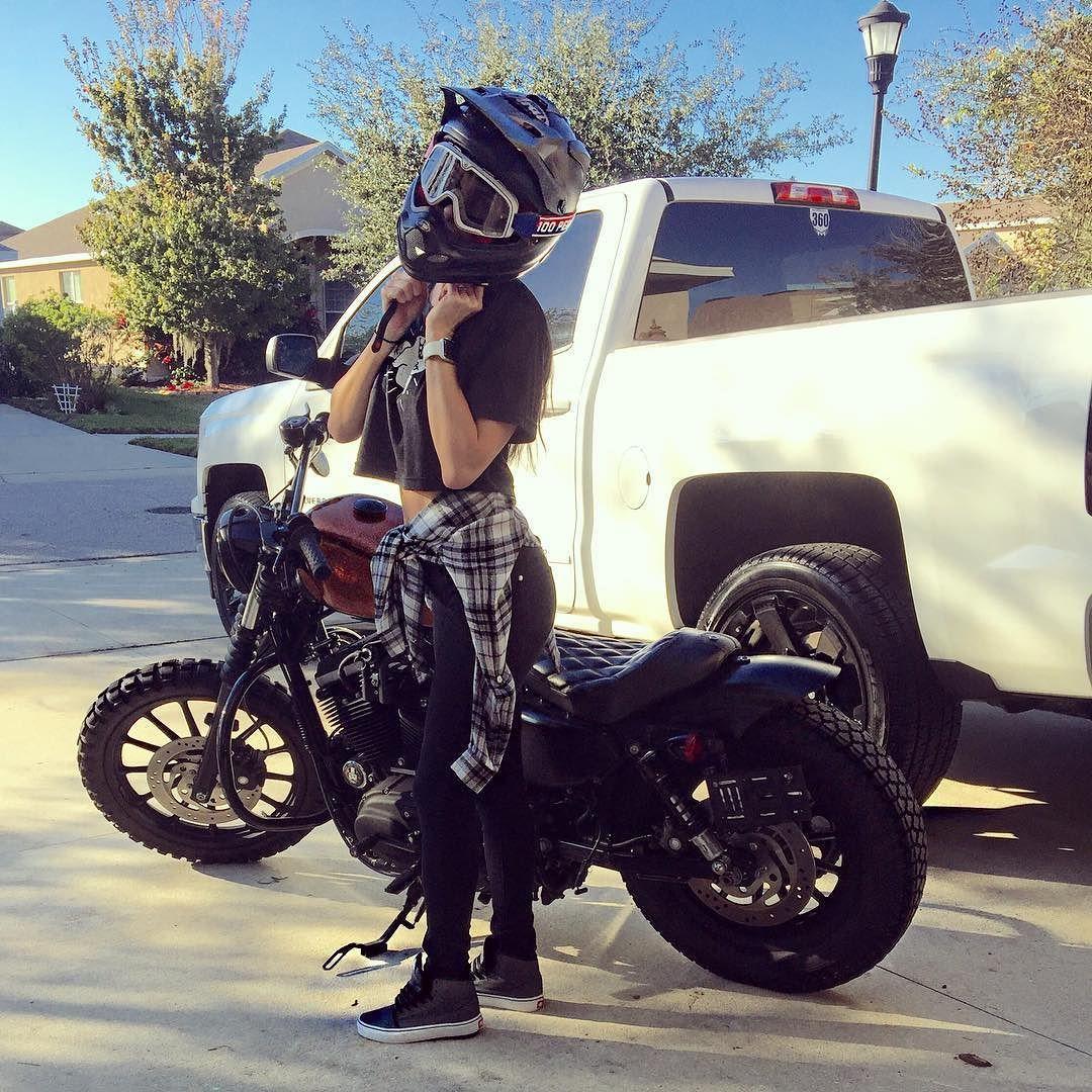 5 Types Of Women That Ride Motorcycles Infographic Biker Girl
