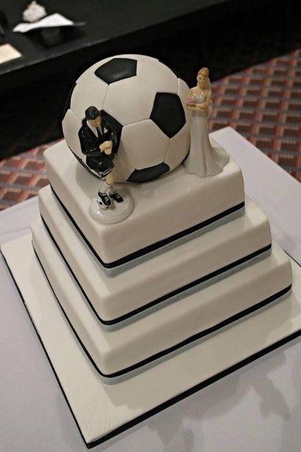 Soccer Wedding Cake