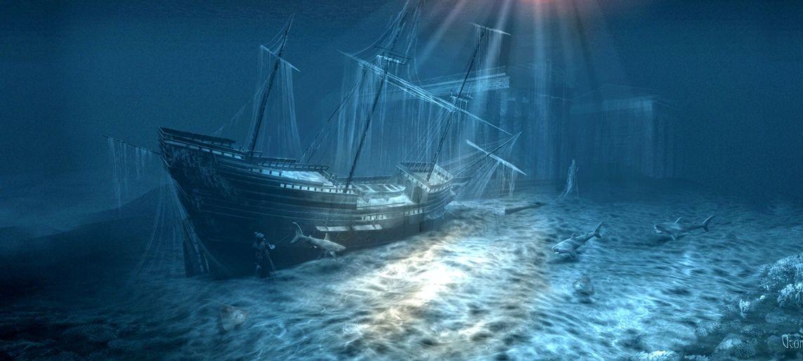 e6ebb5823e66 Pirate Shipwreck | On The Coast | Underwater shipwreck, Shipwreck ...