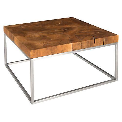 Teak Coffee Table Natural Coffee Table Coffee Table Square Teak Coffee Table