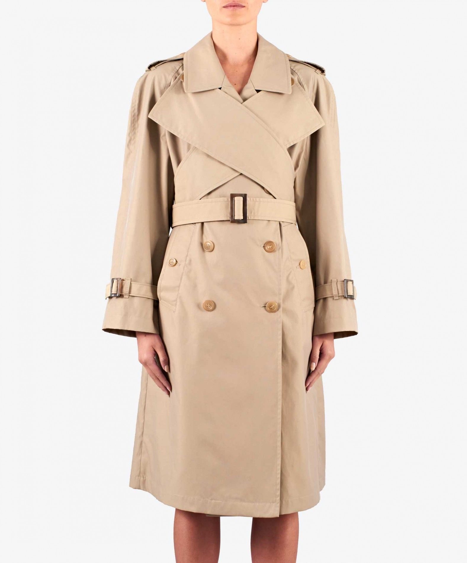 J.W. Anderson Double-Breasted Gabardine Trench Coat ($787