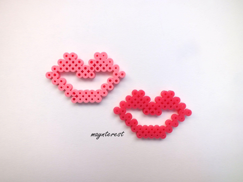 Labios De Hama Beads