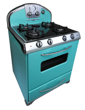 Antique Appliances, Retro Refrigerator, Reproduction Stove And Vintage  Stoves