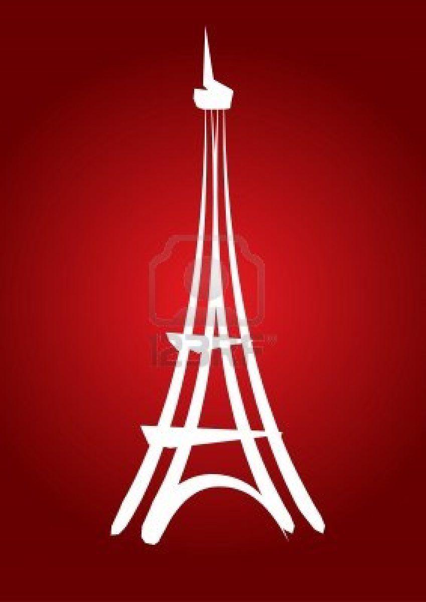 Simple Eiffel Tower Eiffel Tower Illustration Eiffel Tower Eiffel Tower Drawing