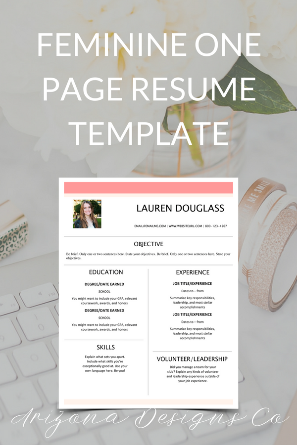 Make Sure Your Resume Stands Out With Our Easy To Edit Resume Word