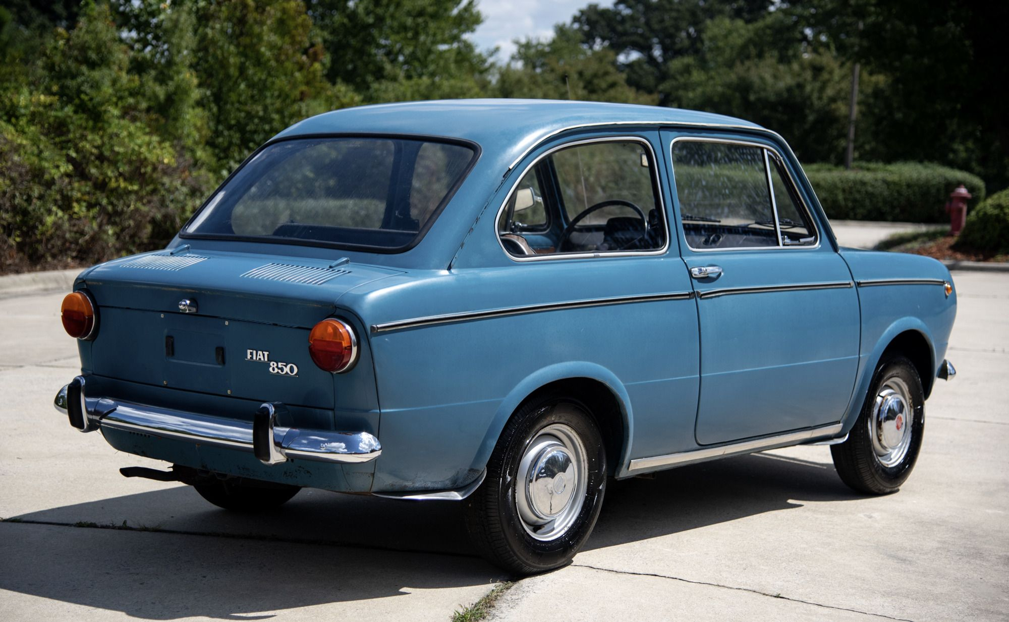 1967 Fiat 850 With Images