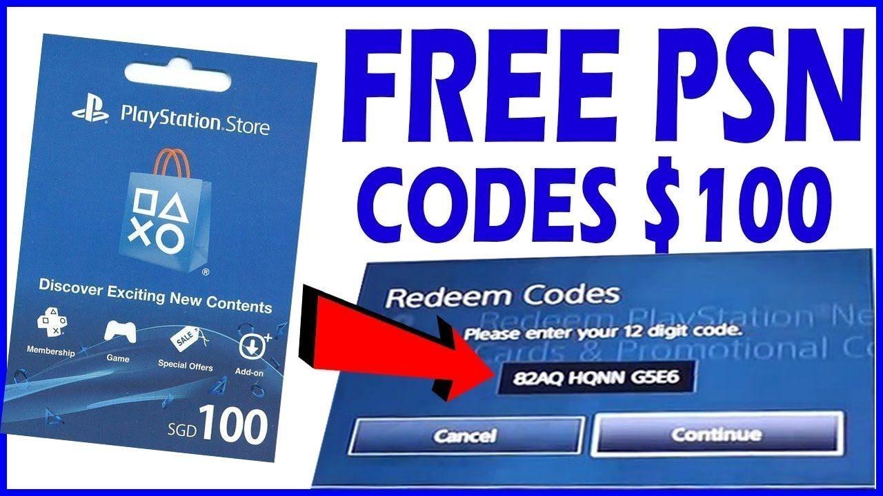 FREE PSN Codes Generator No Human Verification No Survey 2020 (100%  WORKING) | Ps4 gift card, Gift card generator, Free gift card generator
