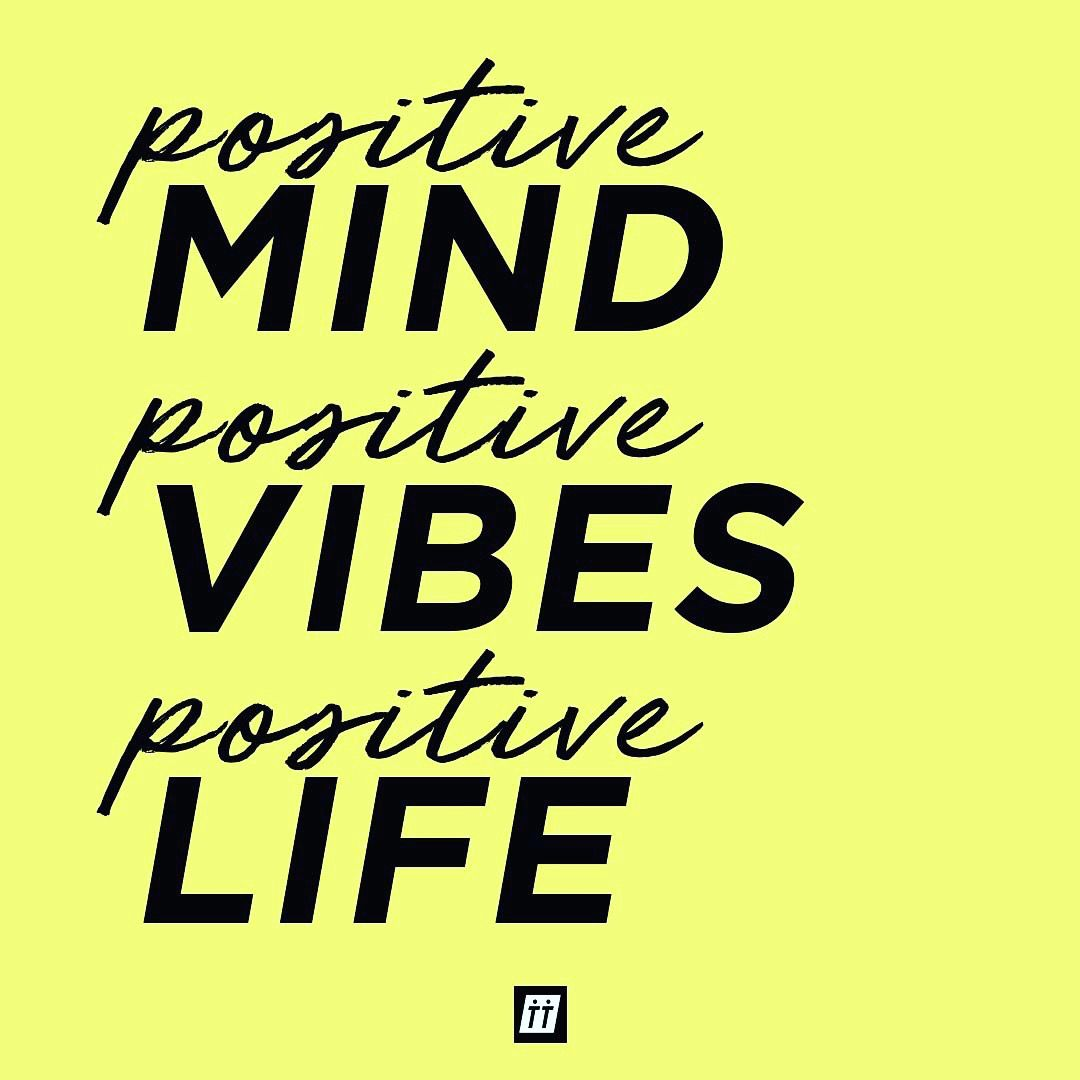 Today Is About Setting Aside All Negative Thoughts And