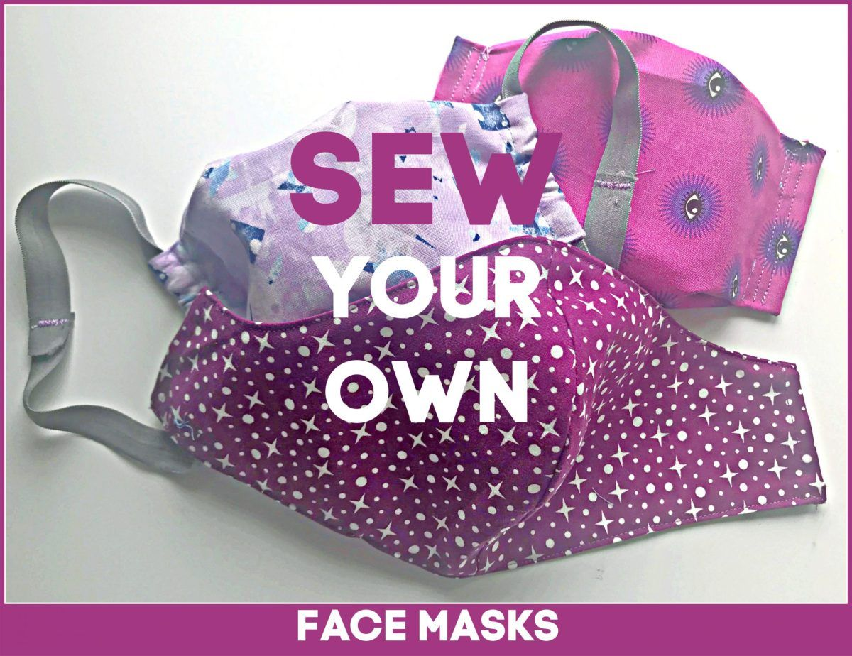 Photo of Face Mask Sewing Tutorials + Printable Patterns