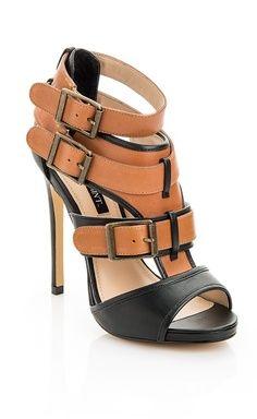 Tri-Buckle Sandal