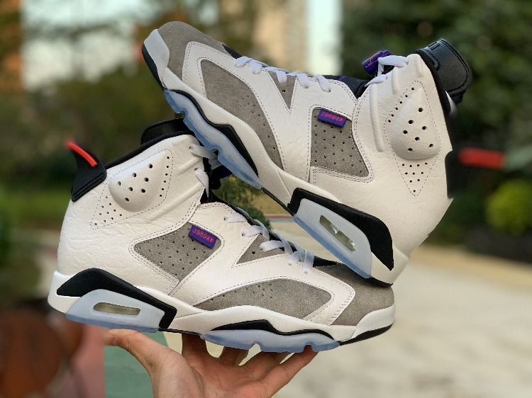"c8d2263fe49 2019 New Air Jordan 6 Retro ""Flint"" White/Black-Infrared 23-Dark Concord  CI3125-100"